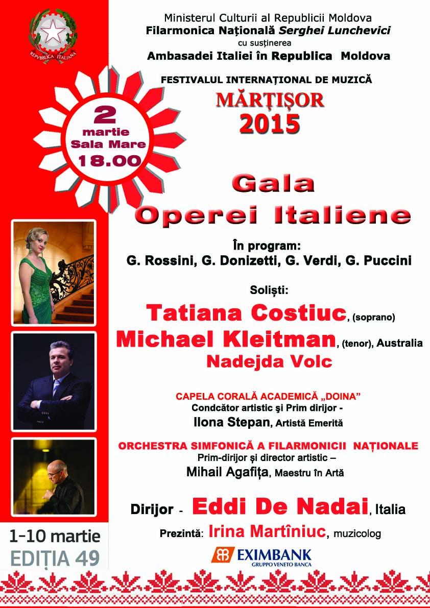 Concert simfonic cu Eddi de Nadai