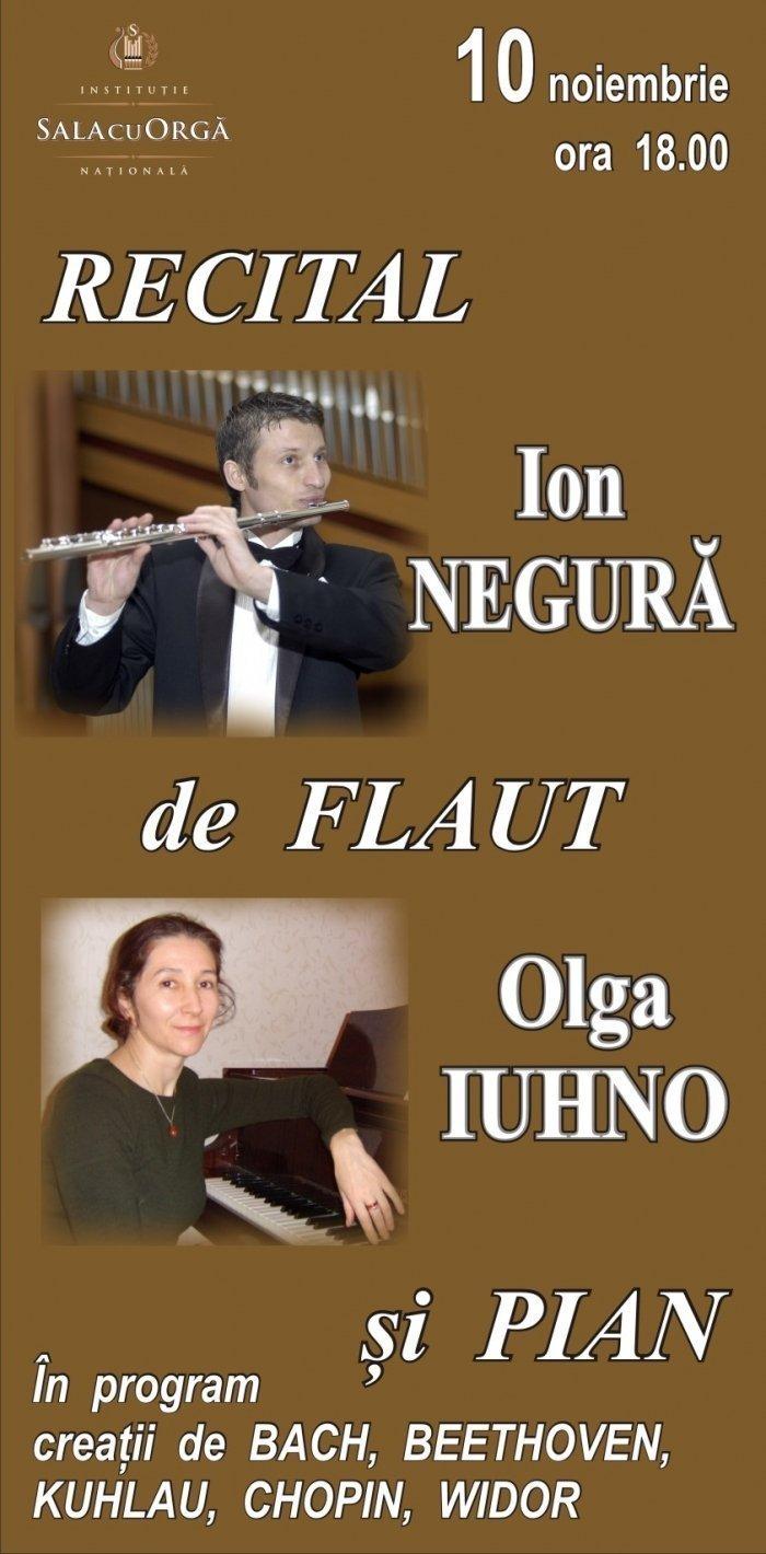 Recital de Flaut si Pian