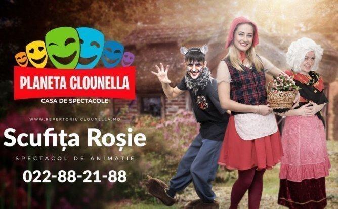 Scufita Rosie - Spectacol Interactiv de Animatie pentru copii | August 2019 | +3