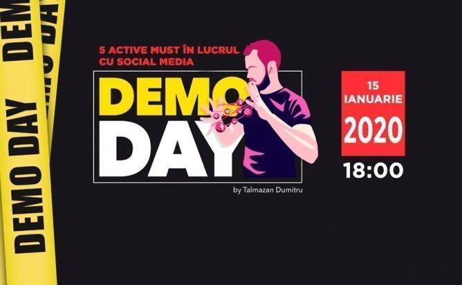 DemoDay - 5 active must în lucrul cu Social Media în 2020 | 24.02.2020