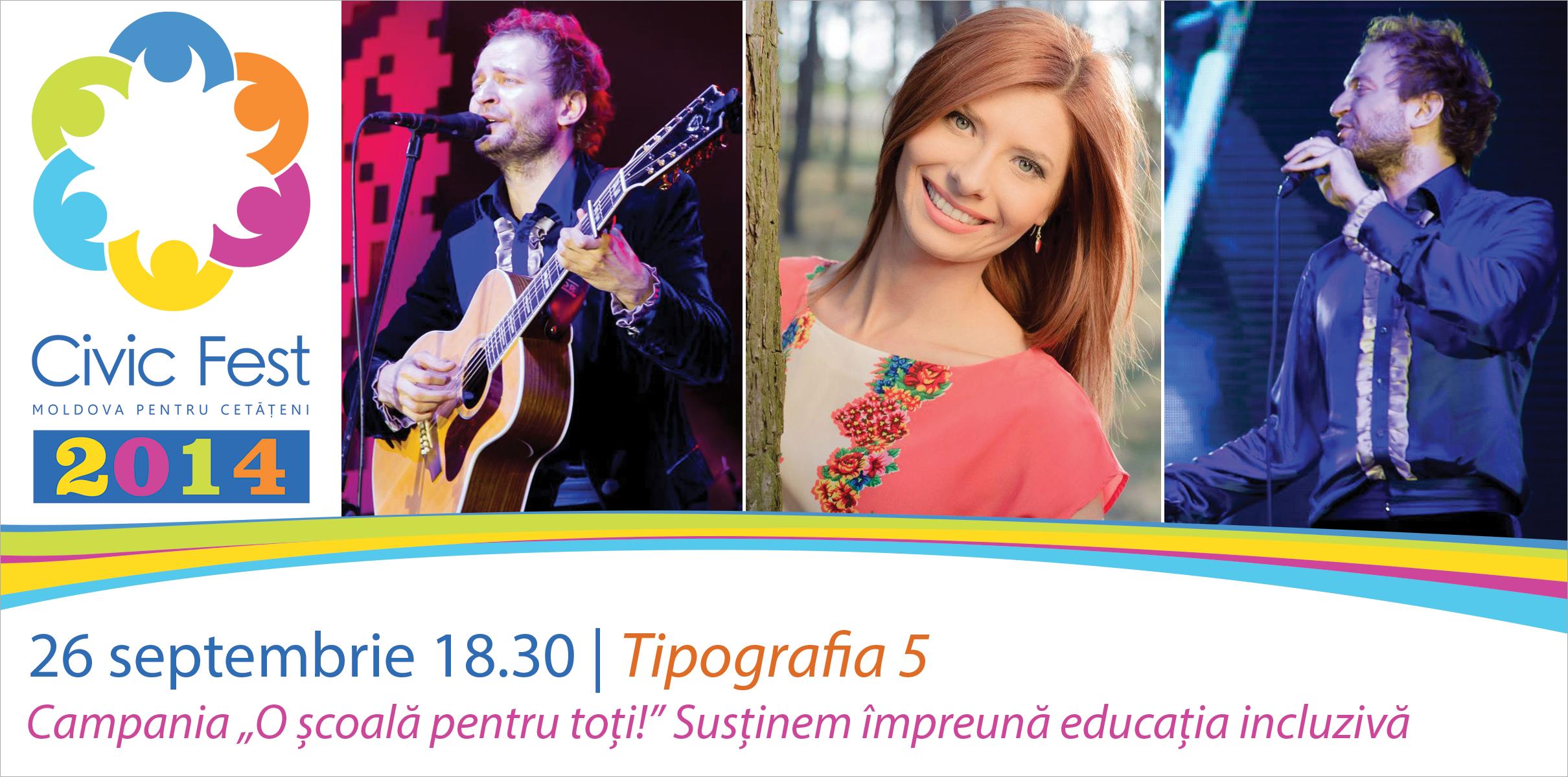 Sustinem impreuna educatia incluziva - concert Cristi Aldea Teodorovici