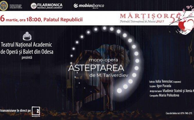 Mono-opera AȘTEPTAREA de M. Tariverdiev
