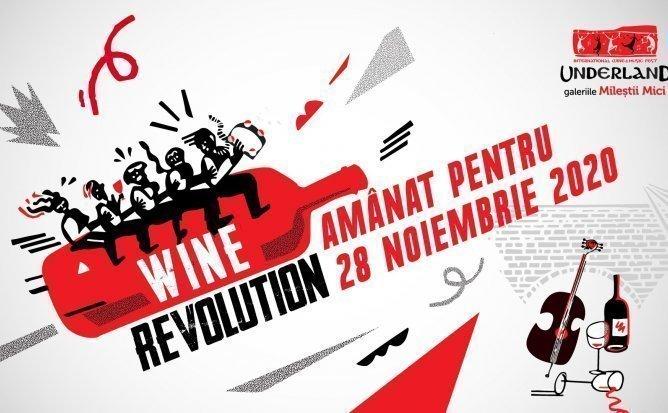 UNDERLAND 2020: WINE REVOLUTION