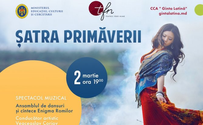"""ȘATRA PRIMĂVERII"" – spectacol muzical - LIVE"