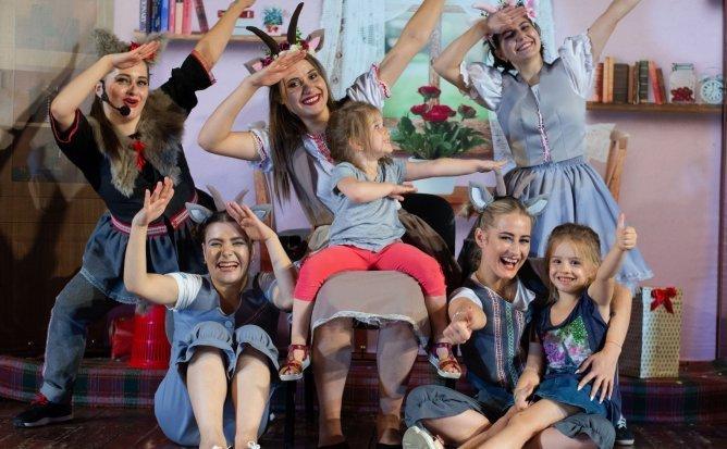 Capra cu Trei Iezi - Spectacol pentru Copii ( Acces Spectacol Online - 44 lei pentru 1 zi ) | +3