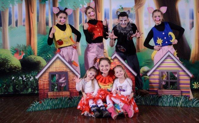 Povestea celor Trei Purceluși - Eveniment Festiv pentru Copii | 10:00 | +2