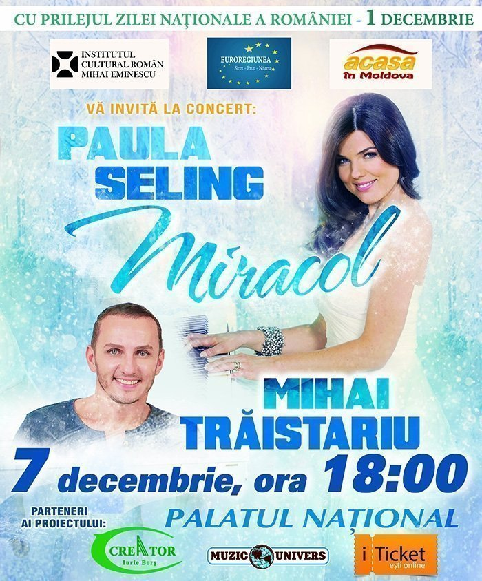 Miracol - Paula Seling si Mihai Traistariu