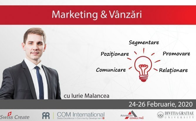 Marketing si Vanzari cu Iurie Malancea