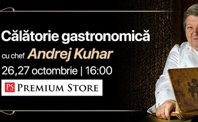 O calatorie gastronomica prin Slovenia impreuna cu bucatarul Michelin Andrej Kuhar.