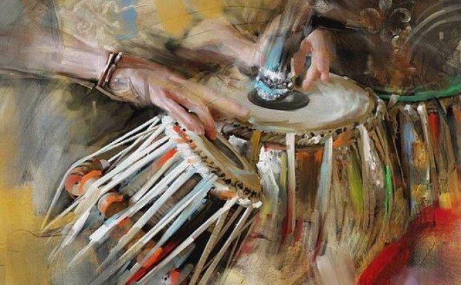 Drum Circle #14 - всеобщий барабанный сейшн
