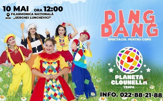 DING DANG - Spectacol pentru Copii realizat de Trupa Planeta Clounella