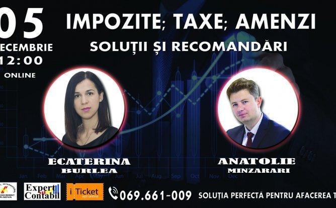 Impozite, Taxe, Amenzi – Soluții și Recomandări de la Expert Contabil