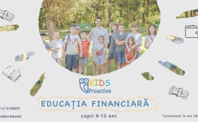 Educatie Financiara si Antreprenoriat pentru Copii - curs interactiv