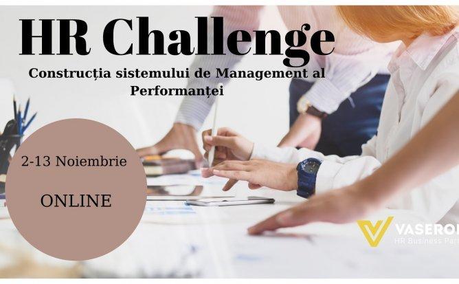 HR Challenge: Construcția sistemului de Management al Performantei