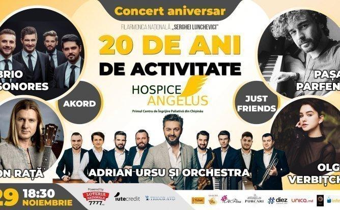 Concert aniversar - Hospice Angelus