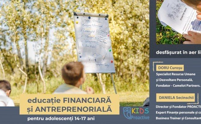 Educație Financiară și Antreprenoriat pentru Copii - curs interactiv