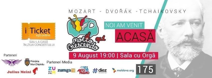 Festivalul de Muzica Clasica - Moldo Crescendo op. 1
