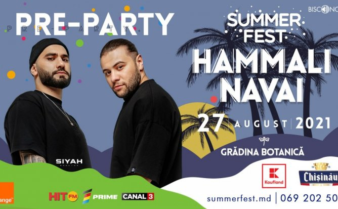 Pre-Party SummerFest 2021 - HammAli & Navai
