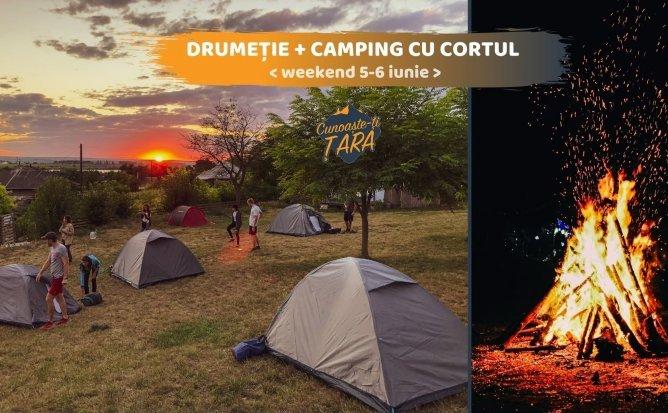 Drumeție + Camping cu Cortul