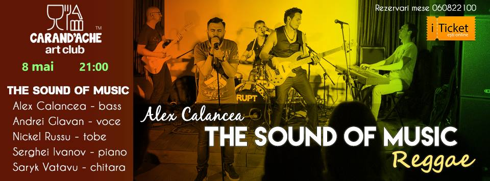 The Sound of Music by Alex Calancea. Reggae Evening