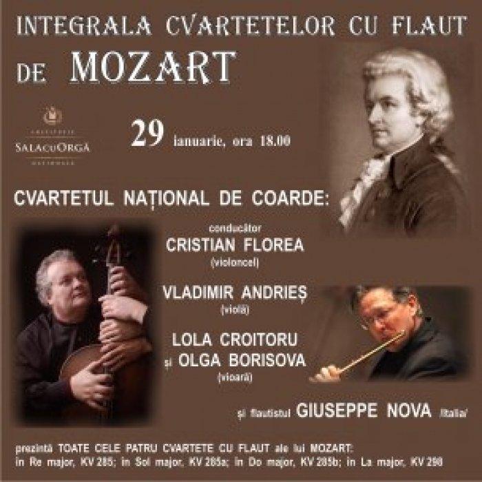 Integrala Cvartetelor cu Flaut de Mozart