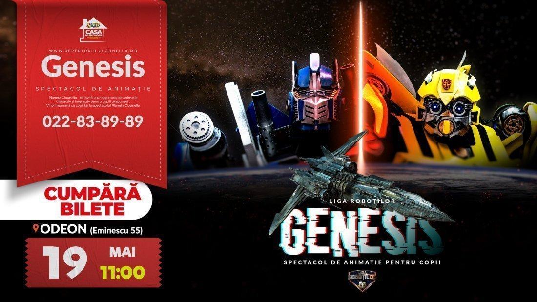 Genesis - Spectacol Interactiv de Animatie pentru copii | Mai 2019