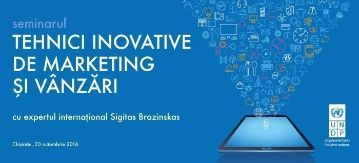 Tehnici inovative de marketing si vanzari cu Sigitas Brazinskas