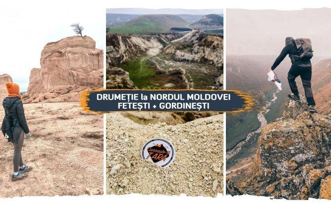 Drumeție de primăvară la Nordul R. Moldova