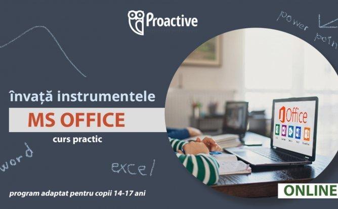 Instrumentele Microsoft Office CURS MS WORD, EXCEL ȘI POWER POINT PENTRU ELEVI