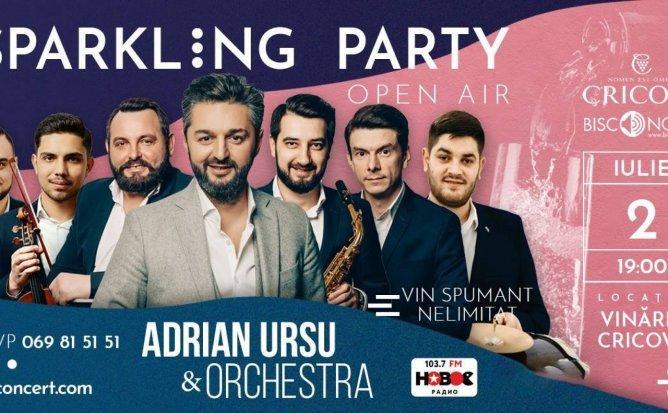 Sparkling Party cu Adrian Ursu si Orchestra