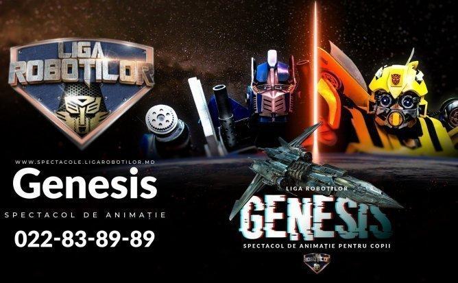 Genesis - Spectacol Interactiv de Animatie pentru copii | Decembrie 2019 | +3