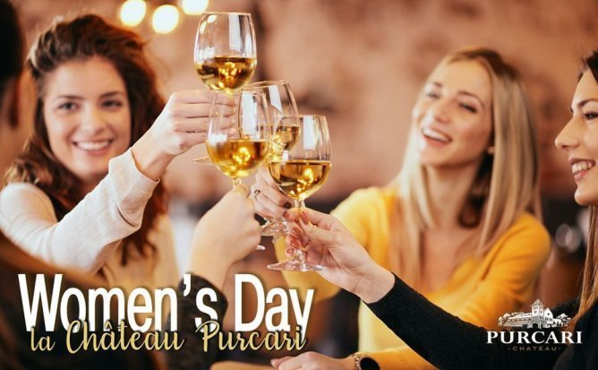 Women's Day la Chateau Purcari