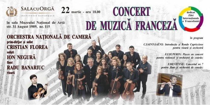 concert de muzica franceza