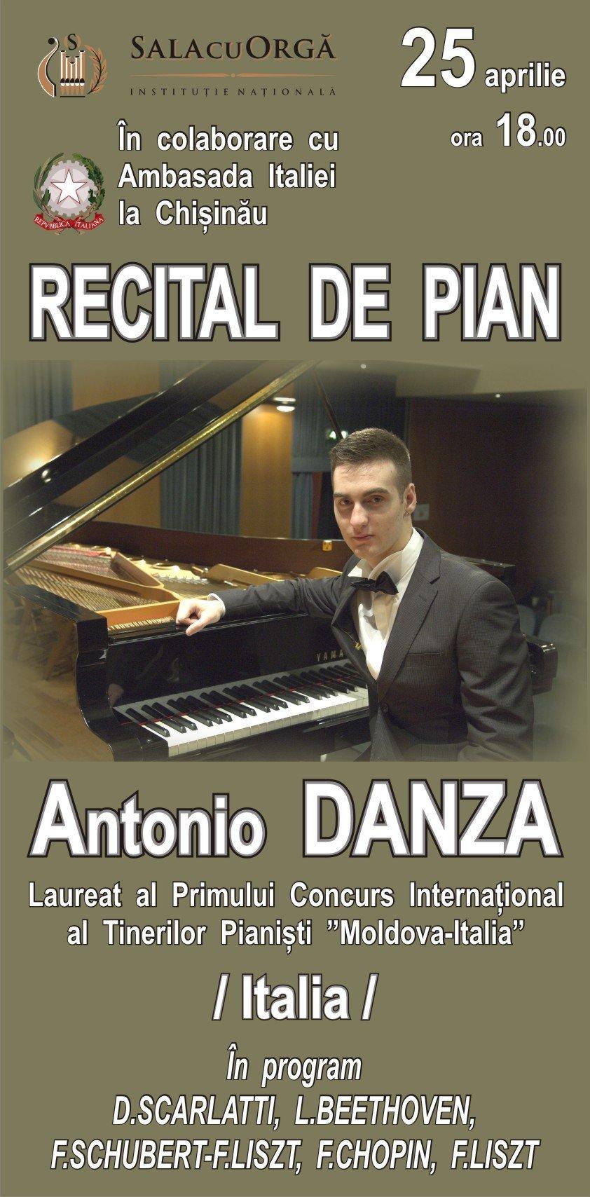 recital de pian cu antonio danza