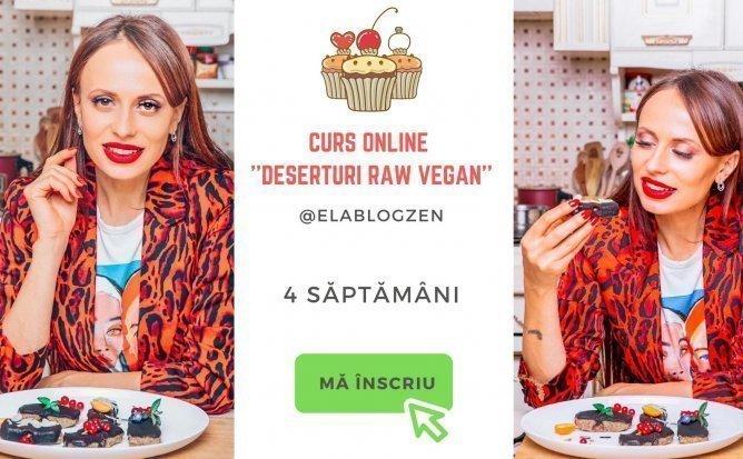 Curs Online Deserturi Raw Vegan cu Diana Chistol - Editia martie 2021
