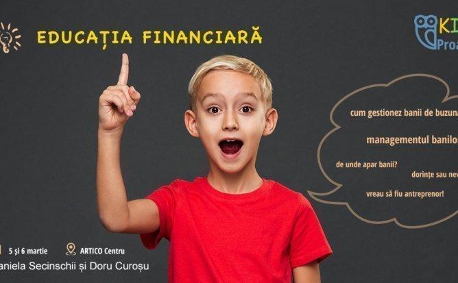 Educatie financiara pentru copii - curs interactiv