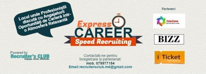 ExpressCAREER - Speed Recruiting Ediția a 2-a