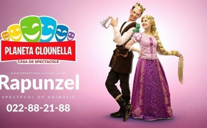 Rapunzel- Spectacol Interactiv de Animatie pentru copii   Decembrie 2019   +3