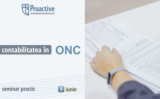 Contabilitatea in ONC – seminar practic