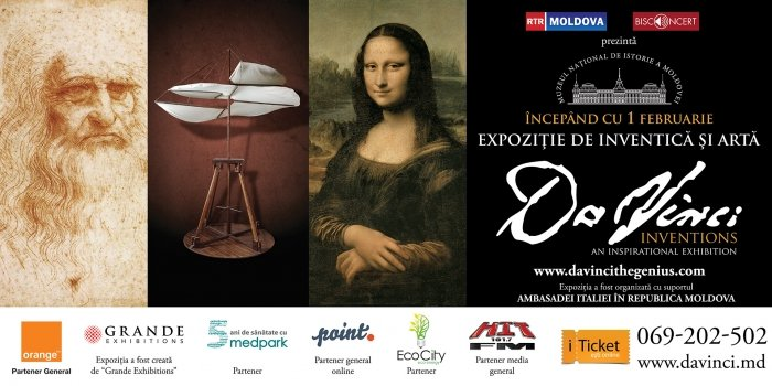 Da Vinci Inventions - An Inspirational Exhibition