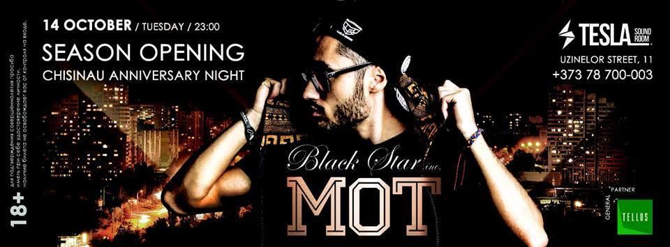 MOT-BLACK STAR inc-Chisinau anniversary - Tesla Sound Room - Opening