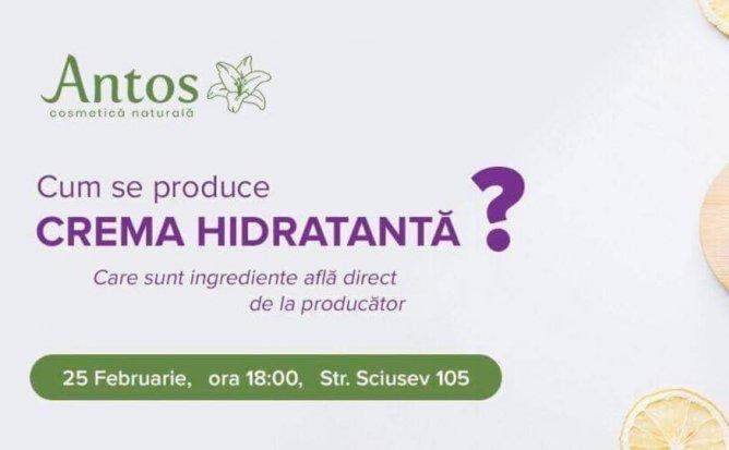 Cum se produce Crema Hidratanta?