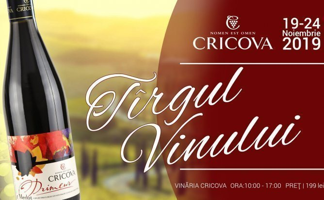 Tirgul Vinului la Cricova