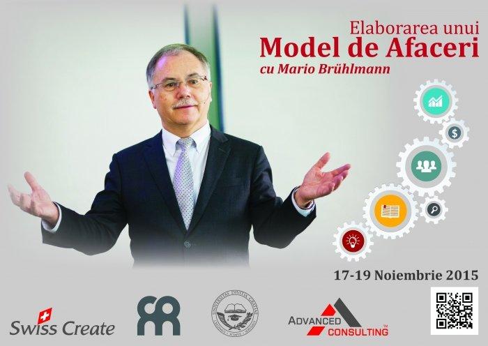 Elaborarea unui model de afaceri cu Mario Bruhlmann
