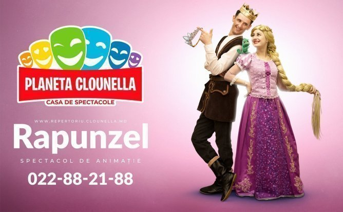 Rapunzel- Spectacol Interactiv de Animatie pentru copii | Noiembrie 2019 | +3