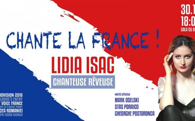 Lidia Isac - Chante La France