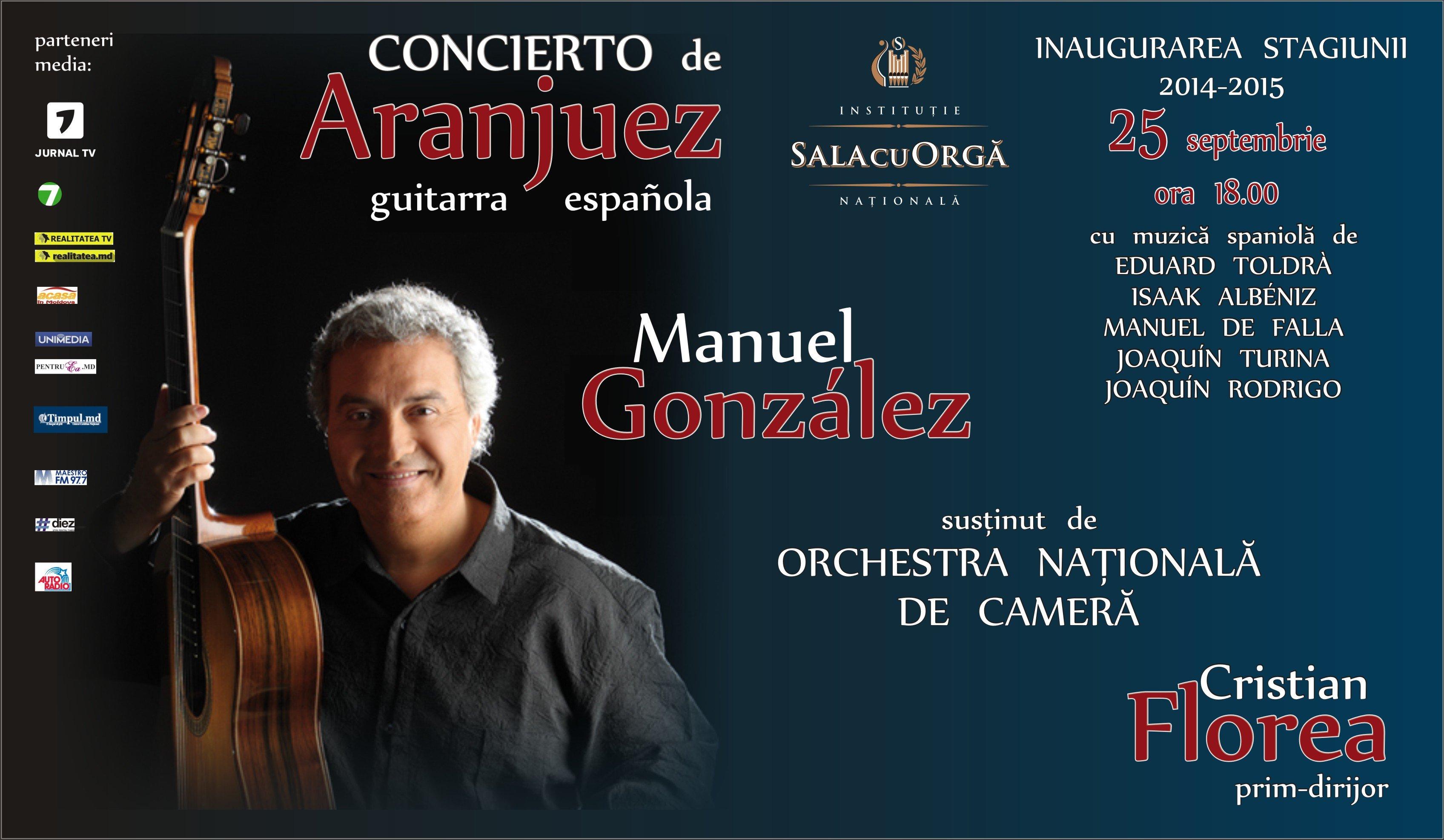 Manuel Gonzales - Inaugurarea Stagiunii 2014 - 2015