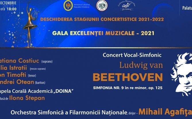 Concert Vocal-Simfonic - Ludwig van Beethoven