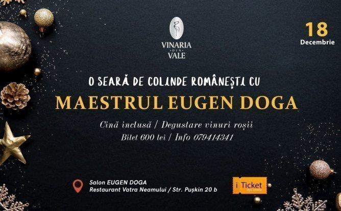 O seara de colinde romanesti cu Maestrul Eugen Doga
