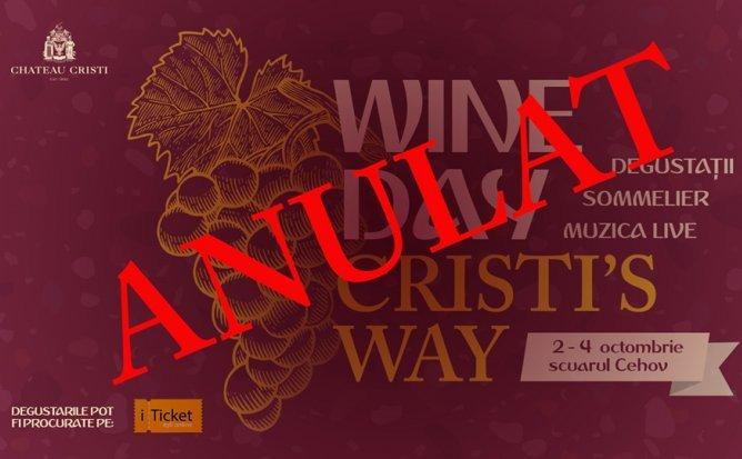 Wine Day Cristi's Way